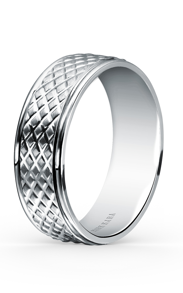 Kirk Kara Wedding band SS7001M-B product image
