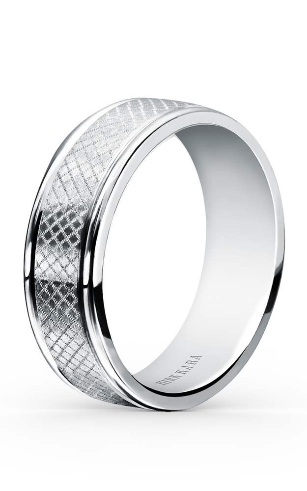 Kirk Kara Wedding band SS7002M-B product image