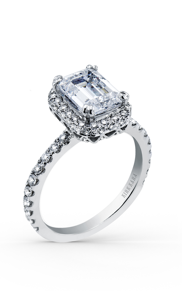 Kirk Kara Carmella - Platinum 0.67ctw Diamond Engagement Ring, K1004DG-R product image