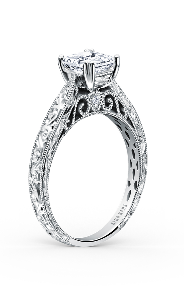 Kirk Kara Stella - Platinum 0.02ctw Diamond Engagement Ring, K161ENS product image