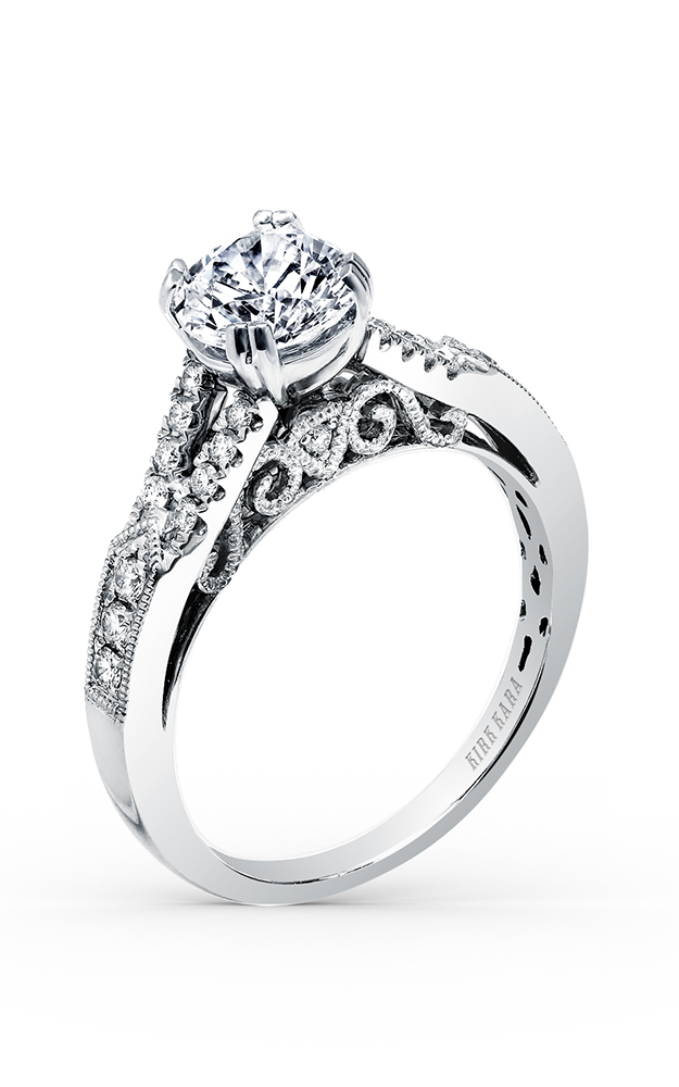 Kirk Kara Stella - Platinum 0.27ctw Diamond Engagement Ring, K162R product image