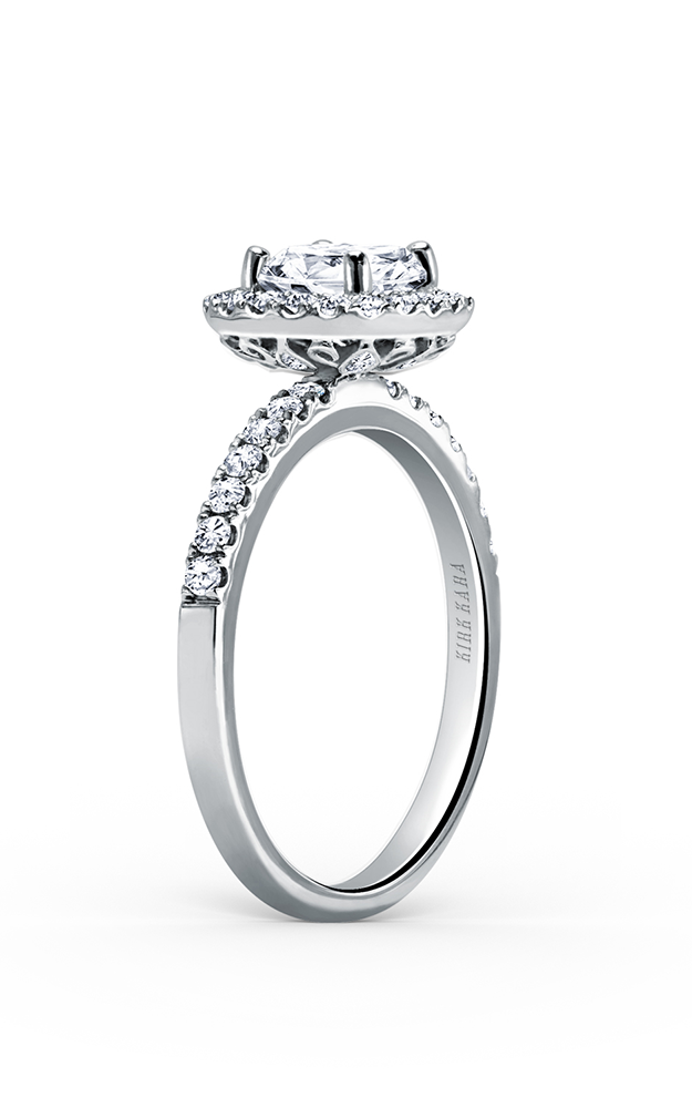 Kirk Kara Carmella - Platinum 0.46ctw Diamond Engagement Ring, K185C65R product image