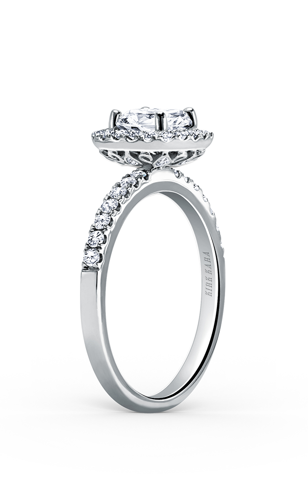 Kirk Kara Carmella - Platinum 0.46ctw Diamond Engagement Ring, K185R65R product image