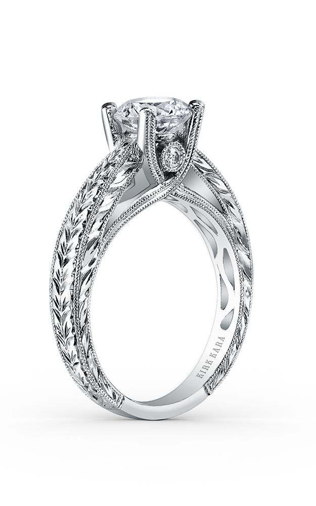 Kirk Kara Stella - Platinum 0.05ctw Diamond Engagement Ring, SS6765-R product image