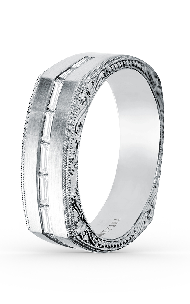 Kirk Kara Wedding band SS6664M-B product image
