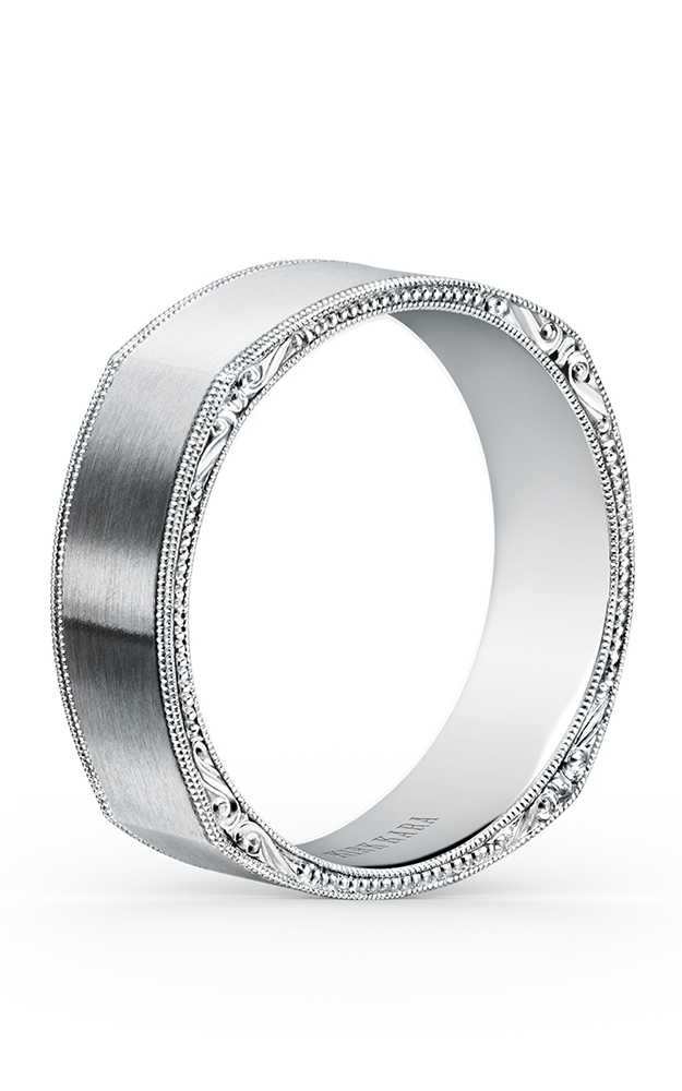 Kirk Kara Wedding band SS6664MP-B product image