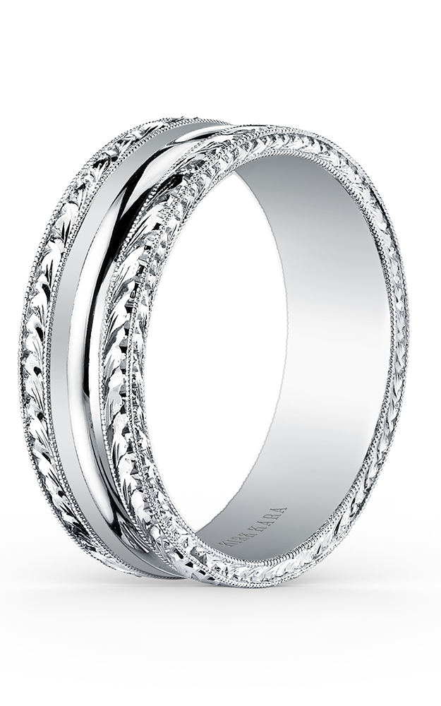 Kirk Kara Wedding band SS6981M-B product image