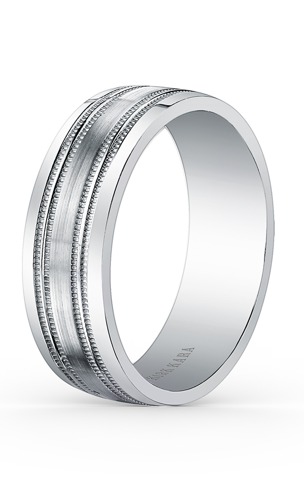 Kirk Kara Wedding band SS6985M-B product image
