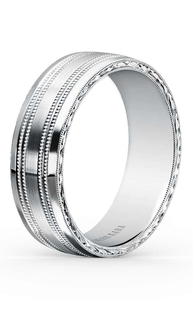 Kirk Kara Wedding band SS6985ME-B product image
