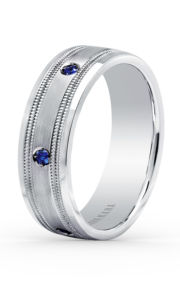 Kirk Kara Wedding band SS6985MS-B product image