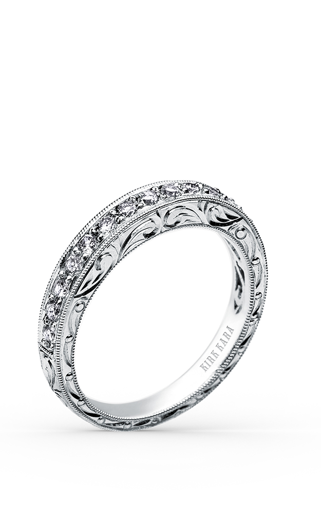 Kirk Kara Wedding band SS6636-BS product image