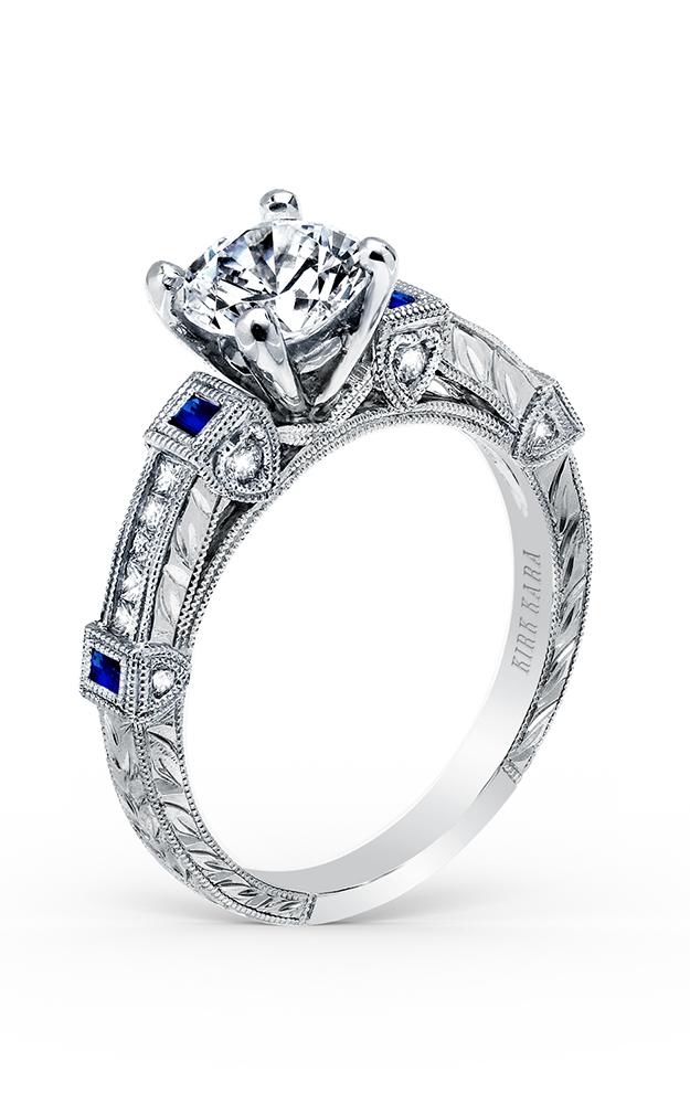 Kirk Kara Carmella - Platinum 0.10, 0.17ctw Diamond Engagement Ring, K175SDR product image