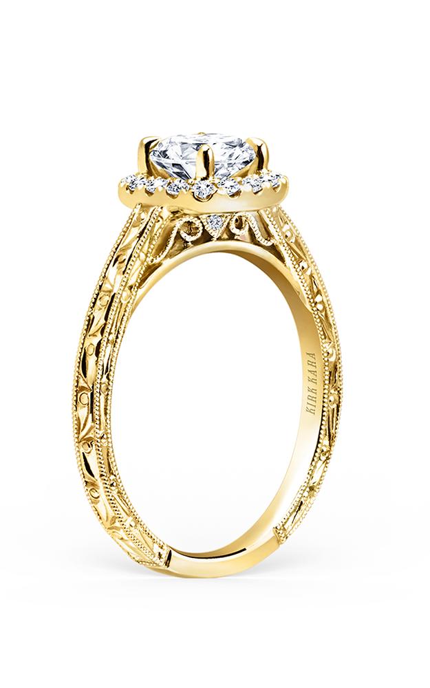 Kirk Kara Carmella - 18k yellow gold 0.17ctw Diamond Engagement Ring, K184NEC6RY product image