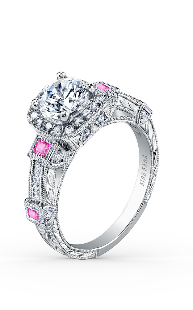 Kirk Kara Carmella - Platinum 0.50ctw Diamond Engagement Ring, SS6757P-R product image