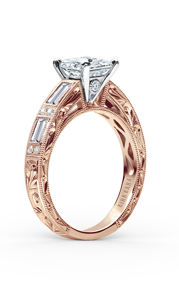Kirk Kara Charlotte - 18k rose gold 0.55ctw Diamond Engagement Ring, SS6685D-RR product image