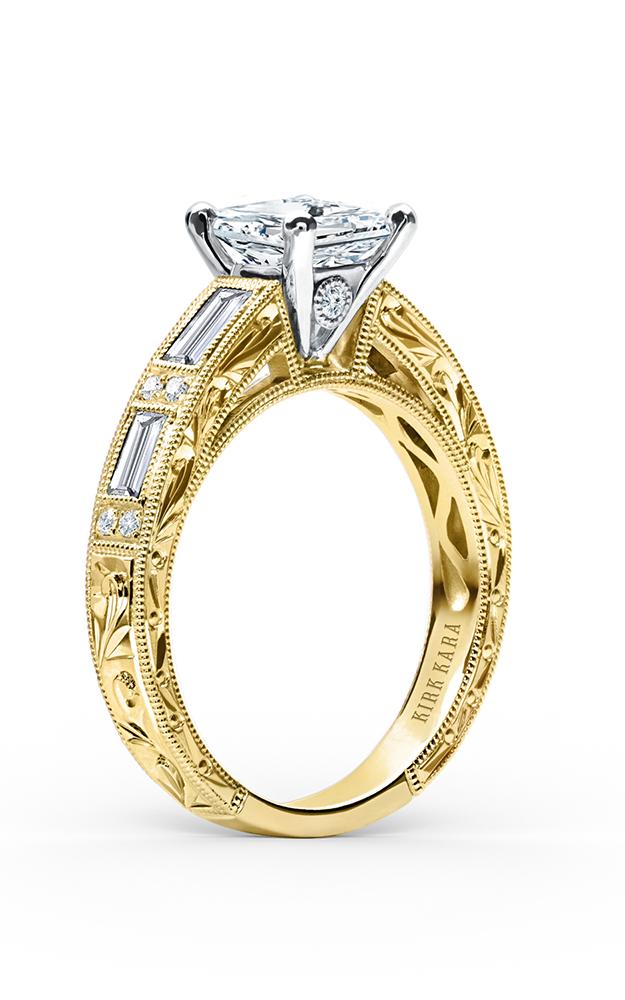 Kirk Kara Charlotte - 18k yellow gold 0.55ctw Diamond Engagement Ring, SS6685D-RY product image