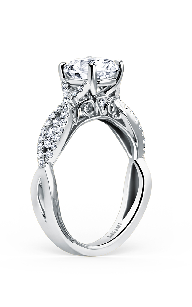 Kirk Kara Pirouetta - 18k white gold 0.31ctw Diamond Engagement Ring, K199R product image