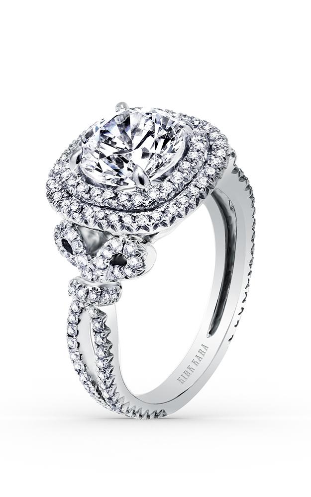 Kirk Kara Pirouetta - Platinum 0.95ctw Diamond Engagement Ring, K172C8R product image