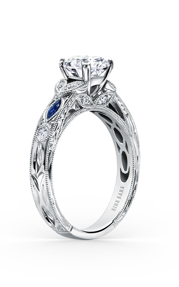 Kirk Kara Dahlia - 18k rose gold 0.12ctw Diamond Engagement Ring, K1120SDCP-R product image