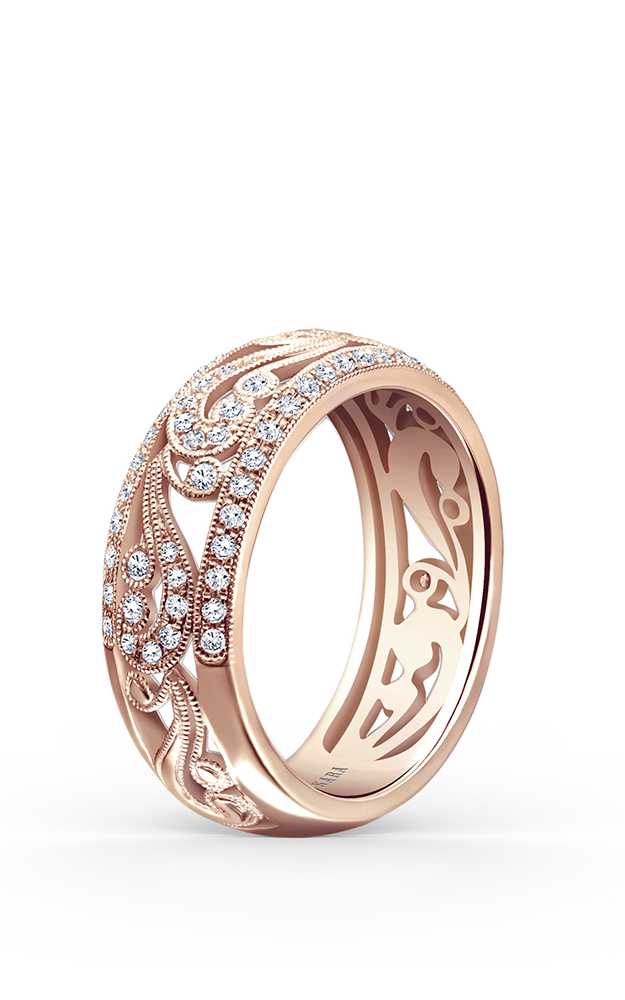 Kirk Kara Wedding band KF1010AP-B product image