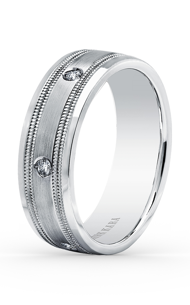 Kirk Kara Wedding band SS6985MD-B product image