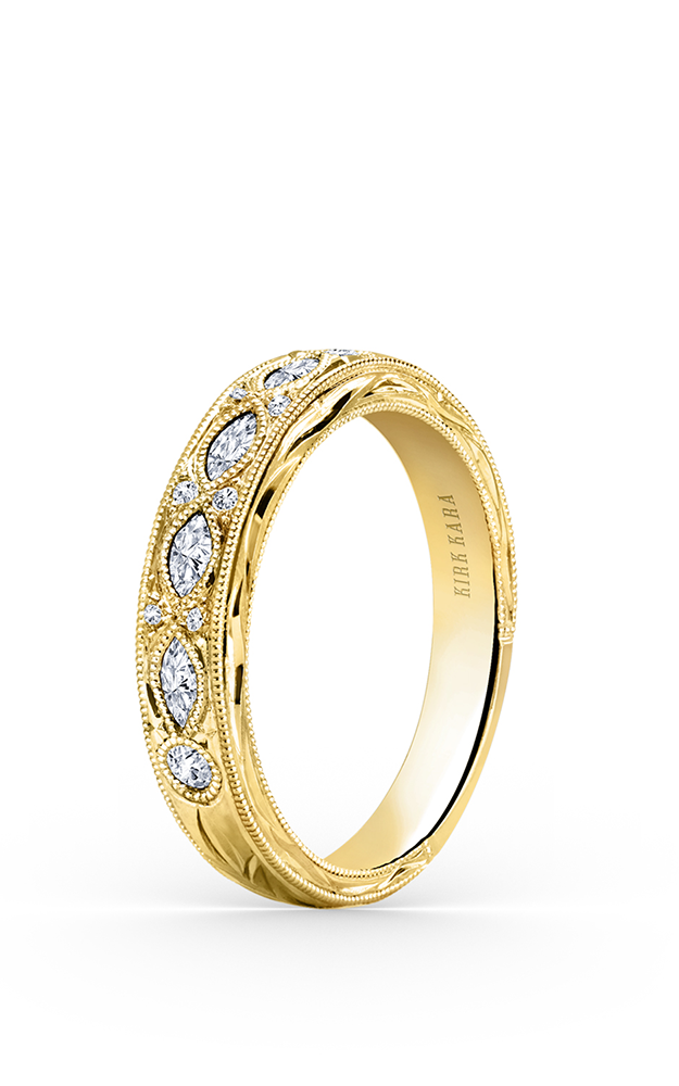 Kirk Kara Wedding band K1120DY-B product image