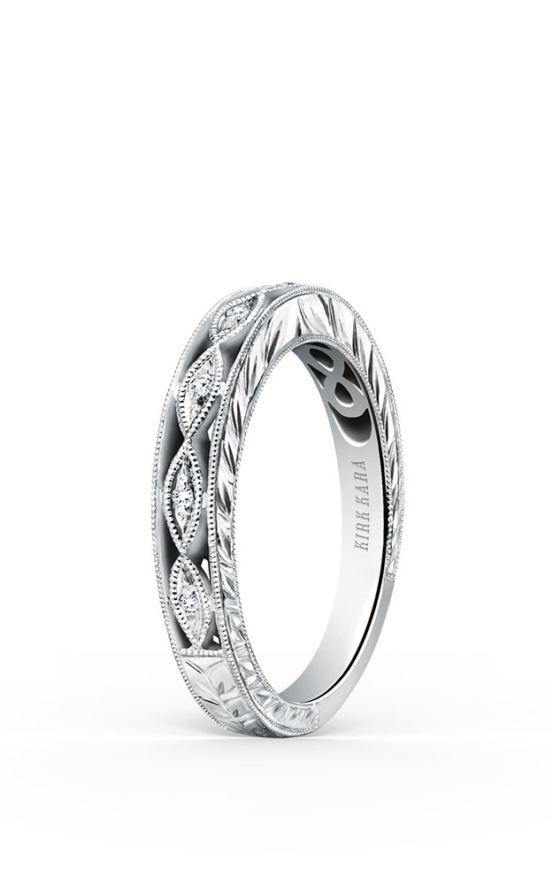 Kirk Kara Wedding band K1420D-B product image