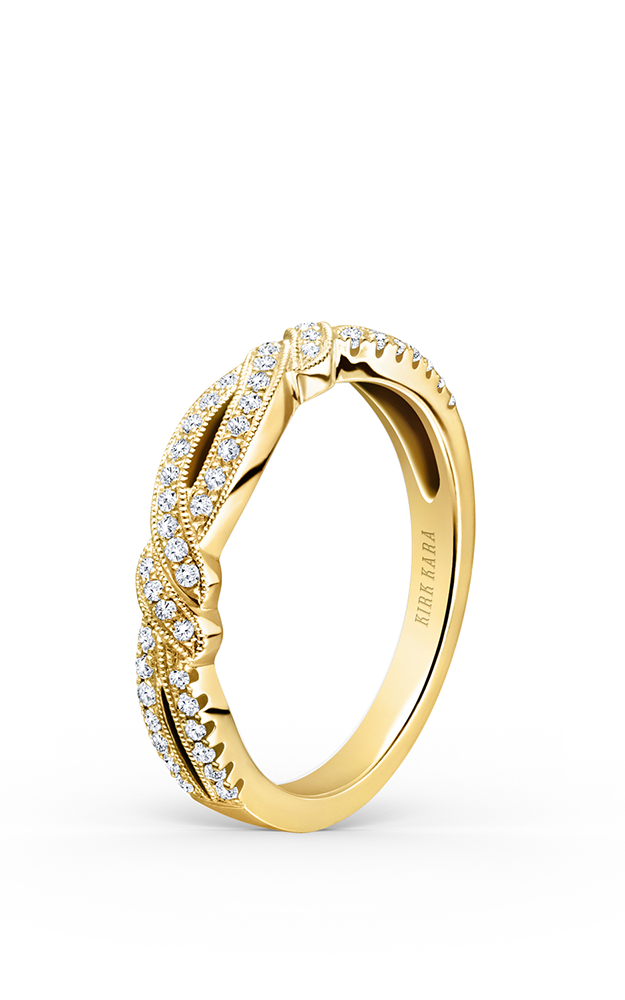 Kirk Kara Wedding band K133Y-B product image