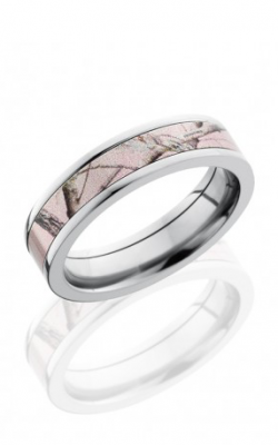 Lashbrook Camo Wedding Band CAMO5F14 PINKRTAP POLISH product image