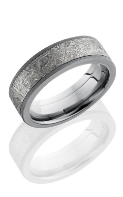Lashbrook Meteorite Wedding Band 7F15 METEORITE SANDBLAST product image