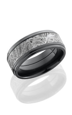 Lashbrook Meteorite Wedding Band Z9FGE15-METEORITE POLISH product image