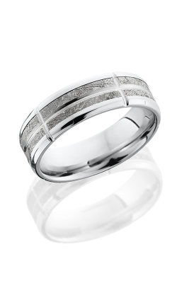 Lashbrook Meteorite Wedding Band CC7B14 NS METEORITEV5SEG11 product image