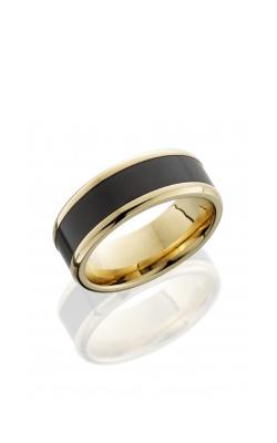 Lashbrook Elysium Wedding Band 18KY8B15 NS_ELYSIUM POLISH product image