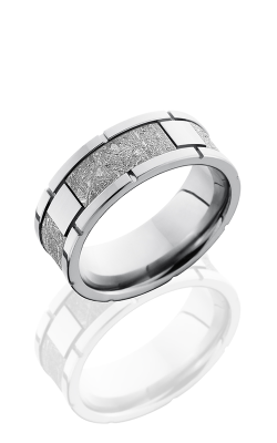 Lashbrook Meteorite Wedding Band CC8F4SEG METEORITE product image