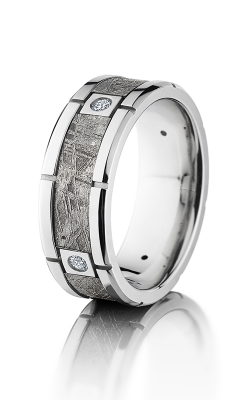 Lashbrook Meteorite Wedding Band CC8F4SEG METEORITE4X.07 product image