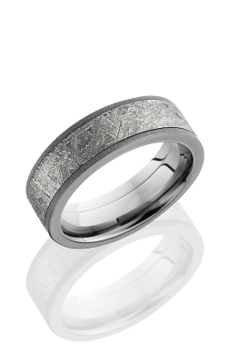 Lashbrook Meteorite Wedding Band PF7F15 METEORITE product image