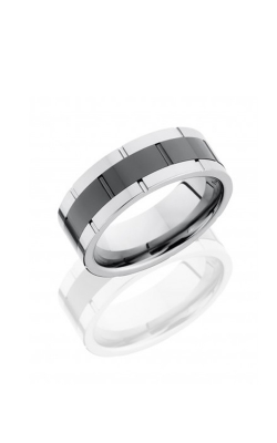 call for price lashbrook tungsten ceramic mens wedding band ct08f9098 product image - The Wedding Ring Shop