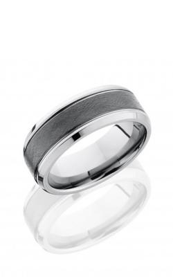 Lashbrook Tungsten Ceramic Men's Wedding Band TCR9090 product image