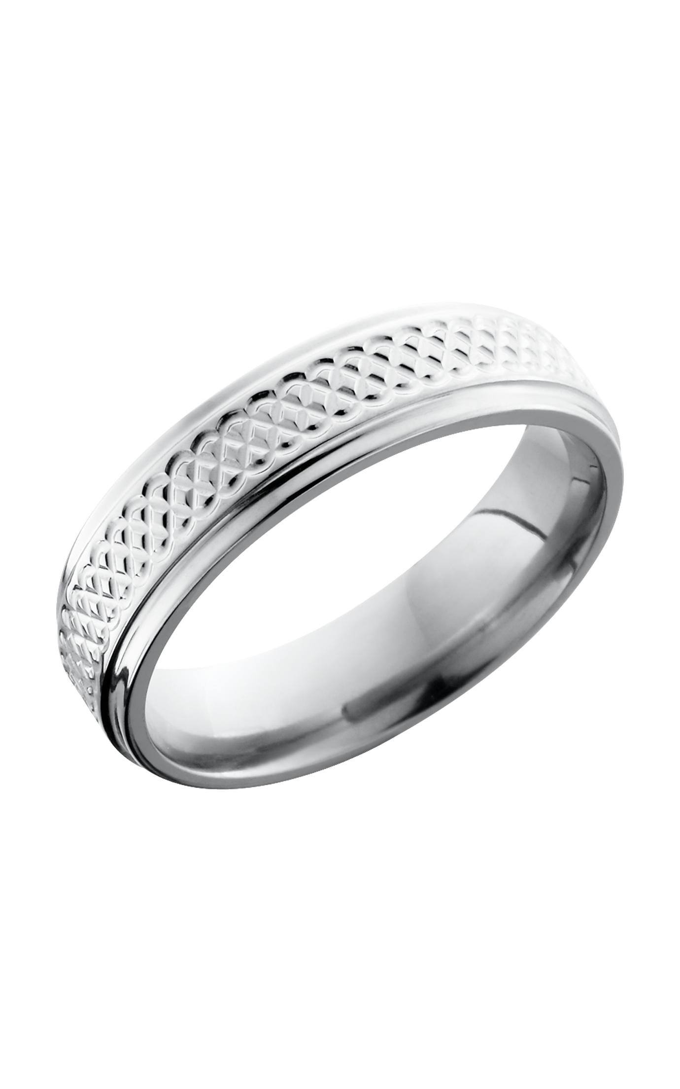 Lashbrook Titanium Wedding band 6FGETIGHTWEAVE product image