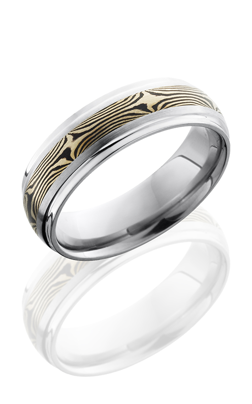 Lashbrook Titanium Wedding band 7DGE13 M14KWSH product image