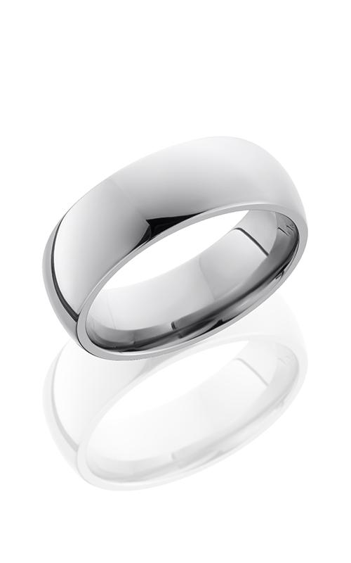 Lashbrook Titanium Wedding band 8D POLISH product image