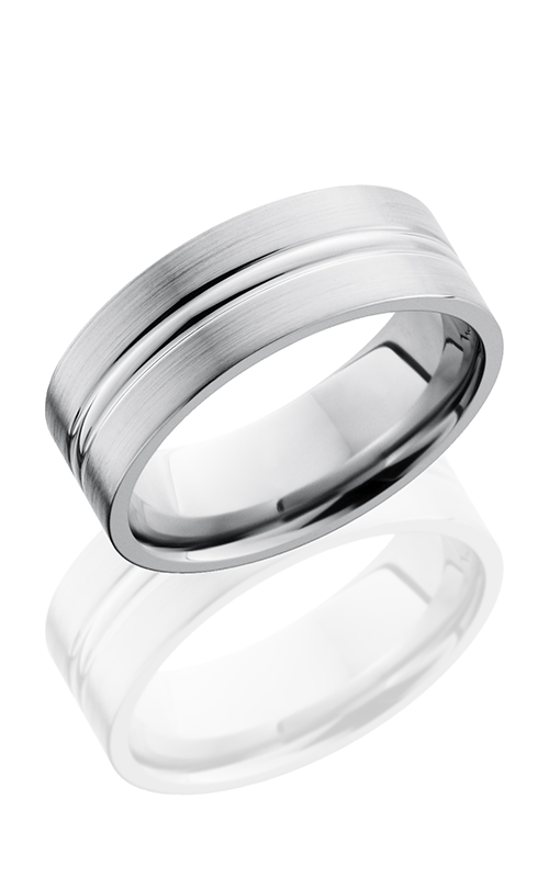 Lashbrook Titanium Wedding band 8FD product image