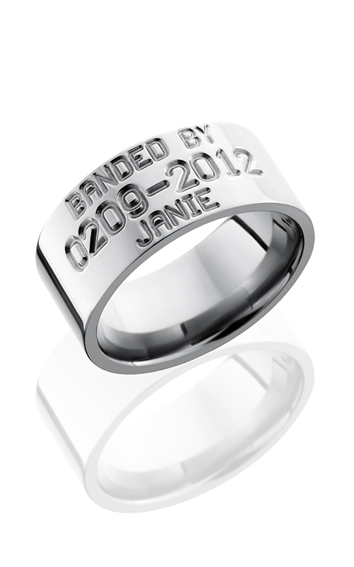 Lashbrook Titanium Wedding band 10FBIRDBAND product image