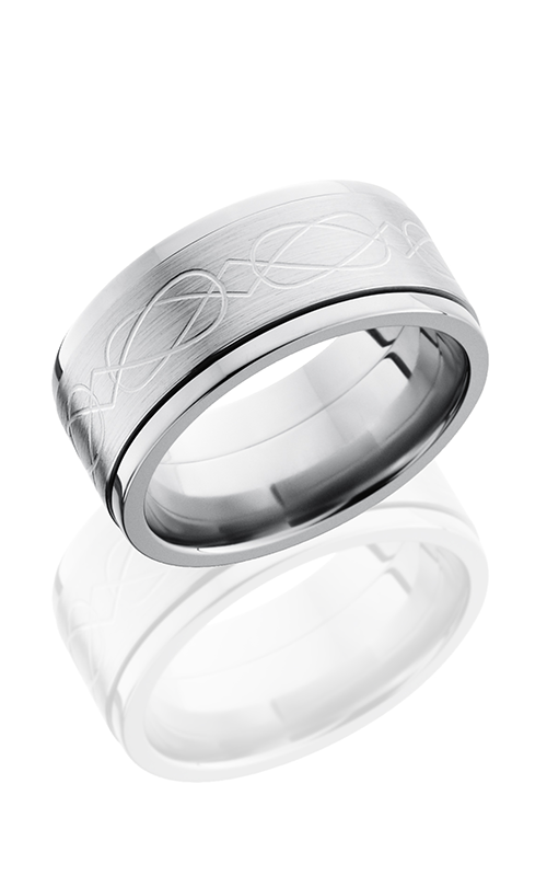 Lashbrook Titanium Wedding band 10FCLTSPIN product image