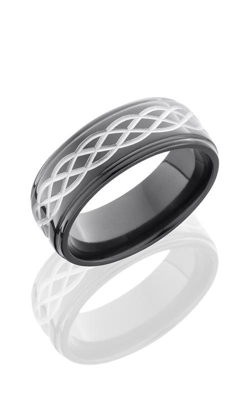 Lashbrook Zirconium Wedding band Z8FGE-CELTIC6 POLISH product image
