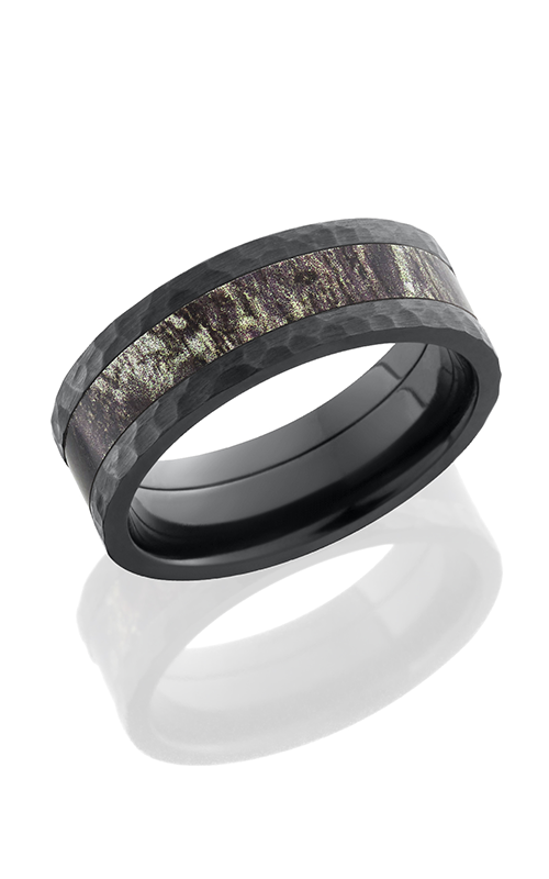 lashbrook camo wedding band mossyoak cross satin black - Mossy Oak Wedding Rings