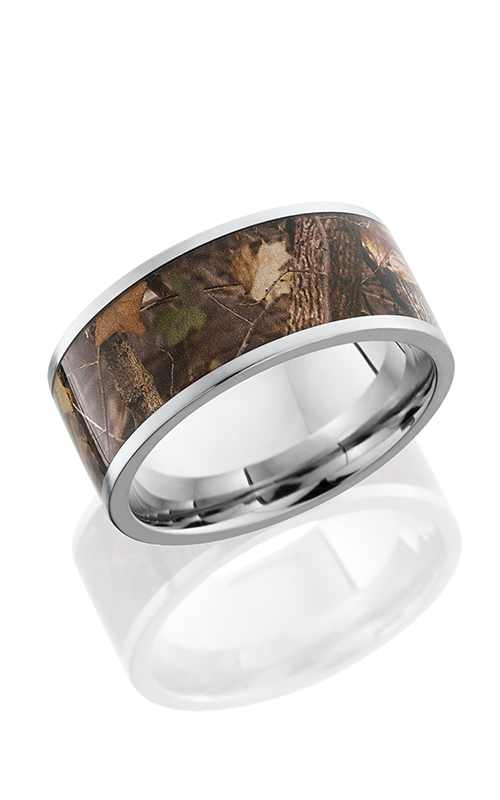 Lashbrook Camo Wedding band CC10F18 KINGSWOODLAND POLISH product image
