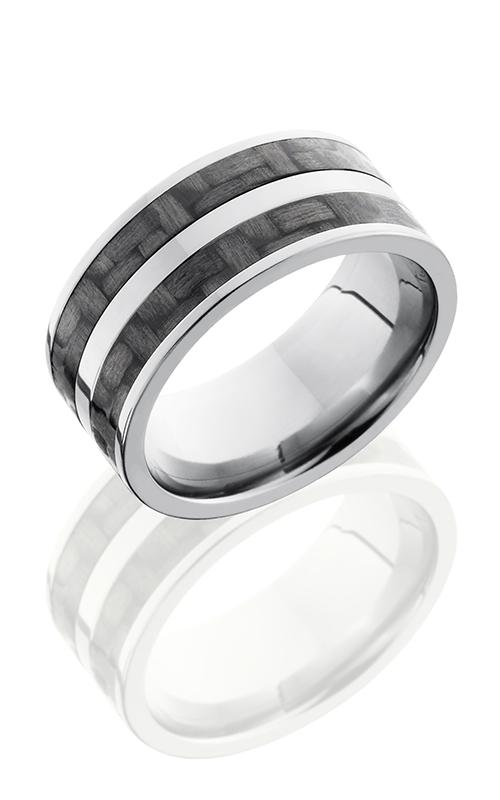 Lashbrook Carbon Fiber Wedding band C10F23 CF POLISH product image