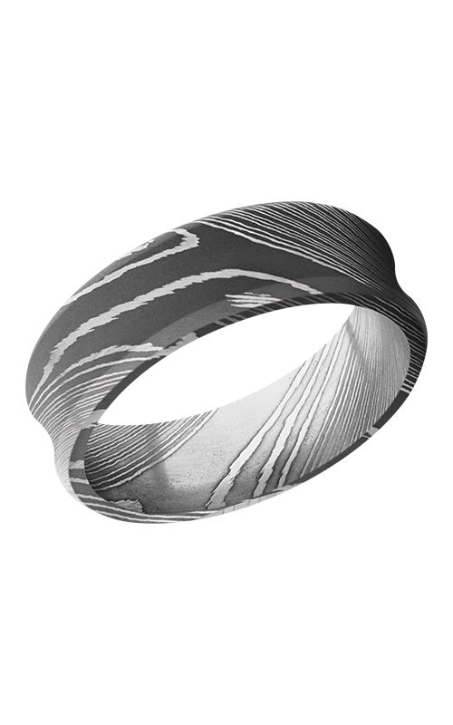 Lashbrook Damascus Steel Wedding band D7CB ACID product image