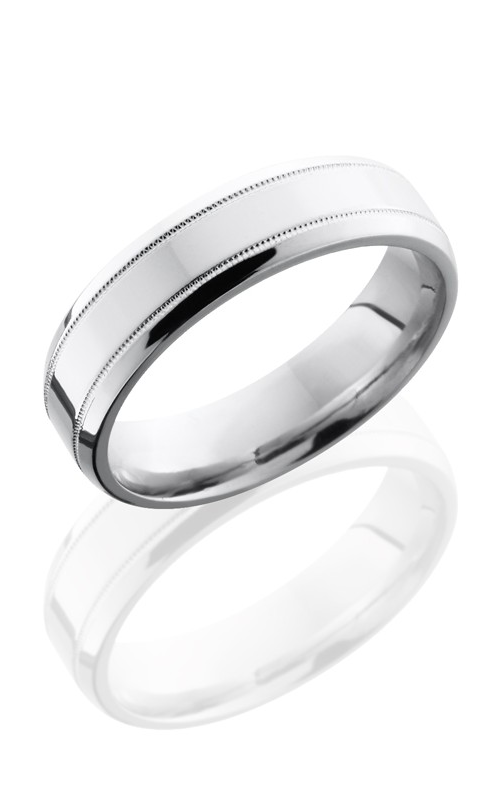 Lashbrook Cobalt Chrome Wedding band CC6B2.5MIL NS POLISH product image